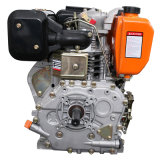 Motore diesel raffreddato aria del singolo cilindro dei 4 colpi