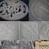 Grabado de piedra de mármol resistente que talla la máquina del CNC