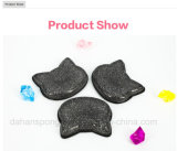 Silicones purs créateurs 2 de l'espace libre 100% de Kitty de mélangeur de renivellement de la mode 2017 dans 1 éponge cosmétique de feuilleté