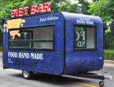 De Kar van de Vrachtwagen van het Voedsel van de Aanhangwagens van het Voedsel van de taco voor Verkoop