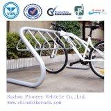 Blanc pour 7 vélos Bike Parking Bike Stand
