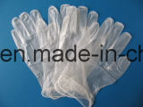 Transparente Vinylhandschuhe für Nahrungsmittelservice