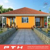 차고를 가진 살아있는 홈을%s 호화스러운 가벼운 강철 별장 집