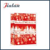 4c 서류상 인쇄한 크리스마스 쇼핑 운반대 선물 종이 봉지를 주문을 받아서 만드십시오
