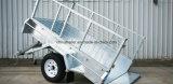 Stijl van Australië galvaniseerde de Op zwaar werk berekende volledig Gelaste Aanhangwagen van de Doos voor Verkoop