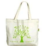 カスタムEcoの自然な100%年の綿袋か綿のトートバックまたは綿のキャンバス袋