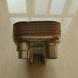 Cantar el tipo cubierto con bronce cobre cambiador del paso de calor de la placa para el sistema de enfriamiento doméstico