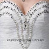 Новое прибытие a - линия мантия венчания lhbim платья венчания шикарная