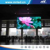 P4.8mm píxel pitch Display LED de color para interiores, alquiler de vallas publicitarias de eventos Fin