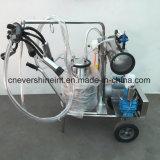 Máquina de ordenha bomba de vácuo único balde Ordenhador Motor Electrcal vaca