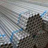 Tubo de acero sin costura hierro Gi Tubo de acero de sección hueca precio por kg.