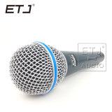 Динамический микрофон связанный проволокой профессионалом 555