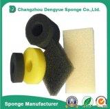 Célula aberta 10-80ppi mídia de filtração de ar de Poeira do Filtro de esponja de espuma de água