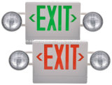 Multi-Functional Remote Dual Heads Combination LED Exit Sign & Emergency Light