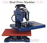St-S2, das Hauptwärmeübertragung-Presse-Frauen-Mann-kundenspezifisches Fußball-Shirt-Drucken-Maschinen-T-Shirt rüttelt