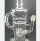 10.23 Zoll-Glaspfeife-Filter-Tabak, der Wasser-Rohr aufbereitet
