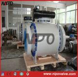API 6D de acero forjado válvula de bola de muñón (Q47F)