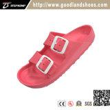 Удобные резиновый ботинки 20249 красного цвета тапочек женщин и людей вскользь