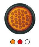 """LED 4"""" 둥근 정지 회전 테일 빛 Tl07"""