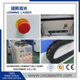 máquina de corte de fibra a laser de 750W para corte de ligas de alumínio