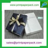 Anillo Cuadrado de cartón de papel personalizado Pendientes joyería cajas de regalo