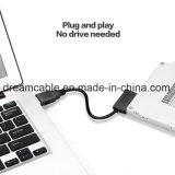 SATA7+6pin CD-ROM를 위한 SATA 운전사 접합기 케이블에 USB3.0