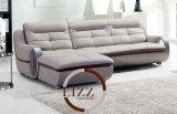 يعيش غرفة جلد أريكة قطاعيّ