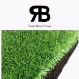erba artificiale sintetica del tappeto erboso del prato inglese di 15mm per il Greening della collina della sabbia/Greening della spiaggia/l'abbellimento Greening della carreggiata