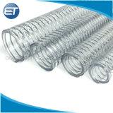 PVCばねの螺線形の鋼線補強された水吸引の排出管のホース