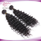 Deep Wave Virgin Brazilian Hair Weaving 100% cheveux humains