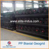 3030 kn Biaxial Geogrid PP de plástico para Inclinação Íngreme