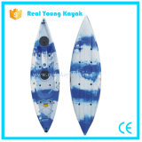 Se reposer sur le premier kayak de la Chine de canoë de pêche maritime d'embarcation plastique
