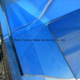 4mm 5mm 6mm 8mm 10mm 12mm濃紺の/Lightの青いフロートガラス
