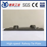 O ferro Nodular moldou a placa de laço Railway de alta velocidade