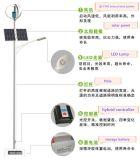preço vertical híbrido solar do gerador de vento do vento dos fabricantes da turbina de vento de 1000W 48V