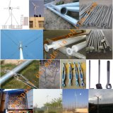 홈 또는 농장 사용 떨어져 격자 시스템 젤 건전지 12V200AH를 위한 3kw 풍력 발전기 시스템