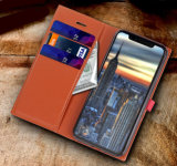 Caja móvil caliente de la carpeta del teléfono de los accesorios para el iPhone X