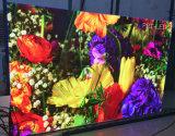 Tablilla de anuncios publicitaria de alta resolución de LED de P3 de interior
