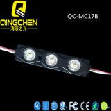 módulo de la inyección LED de la lente 4LEDs del ángulo de visión 160degree