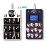 카드 Player Support Voice Recorder/FM Function/LED Screen (제 3 발생)