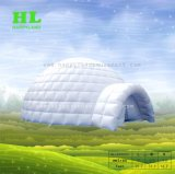 よいひとときを楽しんでいる子供のための普及したカスタマイズされた芝生のディスコ音楽党膨脹可能なドームのテント
