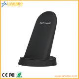 Cargador rápido de Samsung cargador inalámbrico universal compatible con todos los teléfonos habilitados Qi