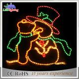 2015 Nouveau Noël Santa Claus LED Décoration Lumière
