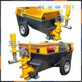 Cimento e bomba de transporte de mistura de areia/argamassa de cimento/Bomba Bomba de argamassa com base