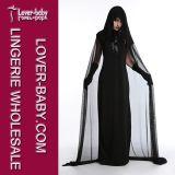 Halloweenの魔法使いのセットされるセクシーな衣裳のランジェリー(L15349)