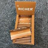 カスタムブランドのタバコのロール用紙の半透明な白