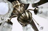 Luz quieta super do ventilador de teto de 52 polegadas com 5 lâminas