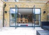 Рука произвела дверь металла внешнюю стальную французскую Bi-Fold для дома