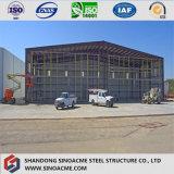 La certificación CE de la calidad de China el bastidor de acero prefabricada Hangar de helicópteros