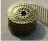 Ноготь катушки хвостовика винта для деревянного паллета размера 2.5mm x 65mm